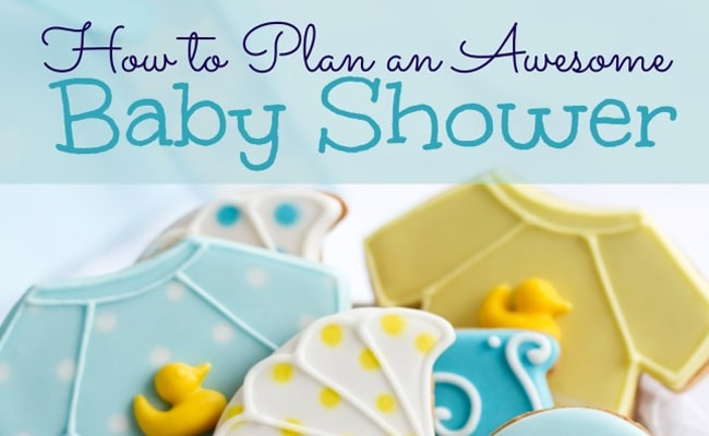 How to Plan an Awesome Baby Shower