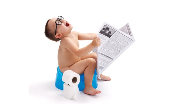 Potty training tips for twins