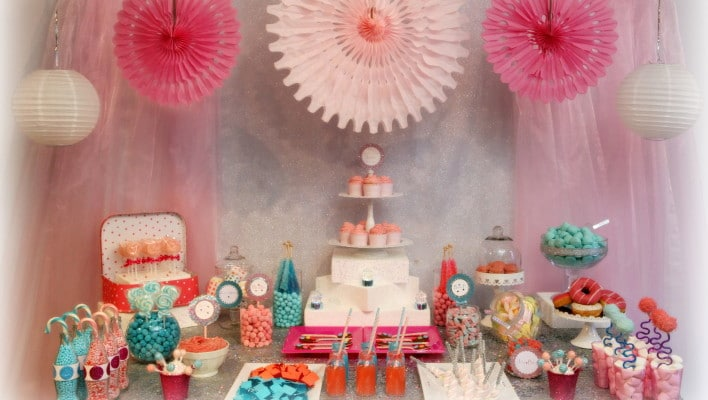 Birthday Themed Dessert Table – Take a Sweet