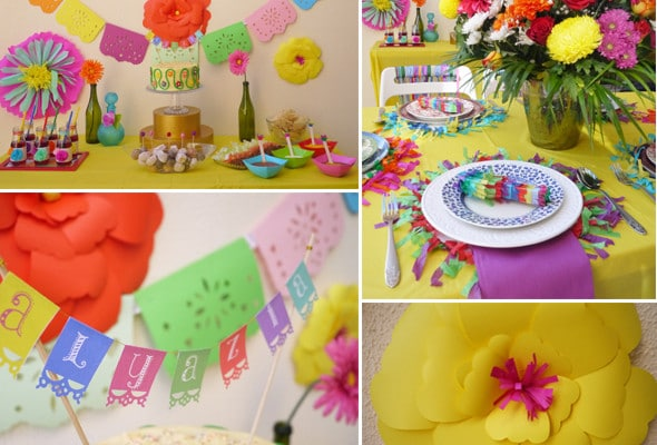 Colorful Fiesta Birthday Party