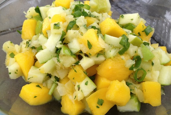 Easy Mango Salsa Recipe For Cinco de Mayo