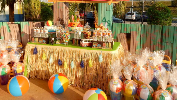 Beach Bash Birthday Party