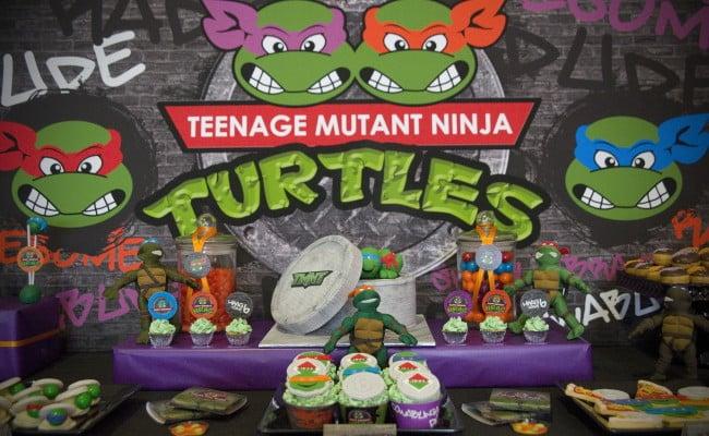 Teenage Mutant Ninja Turtles Birthday Extravaganza