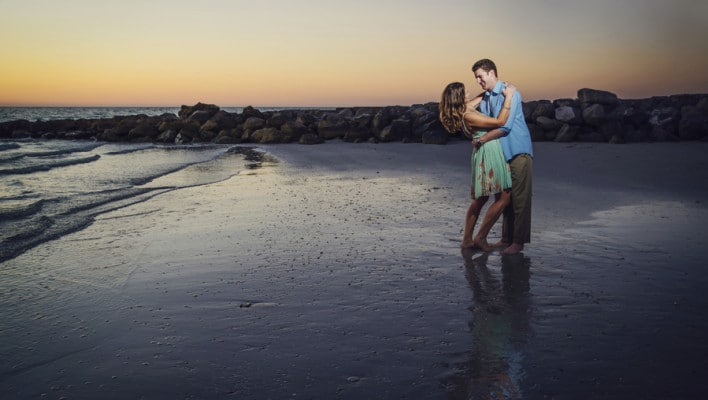 Engagement Session Beach Photo Shoot