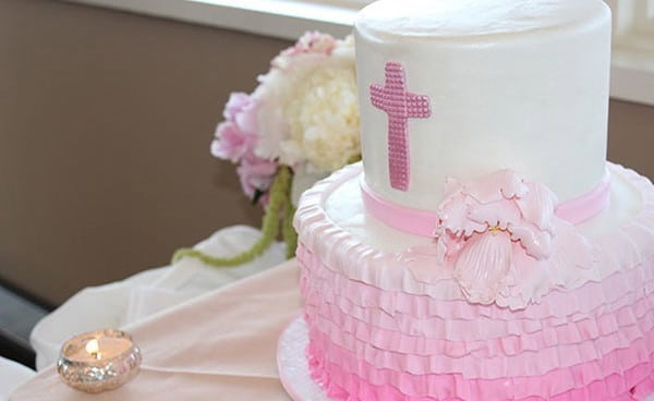 Soft and Feminine First Communion Party