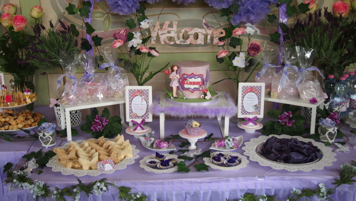 Flower Fairies Birthday Theme