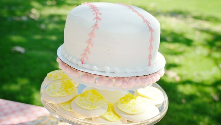 A League of Their Own Themed Birthday Bash