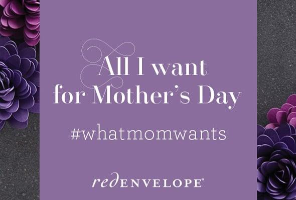 Celebrating Mom with RedEnvelope + $500 Giveaway