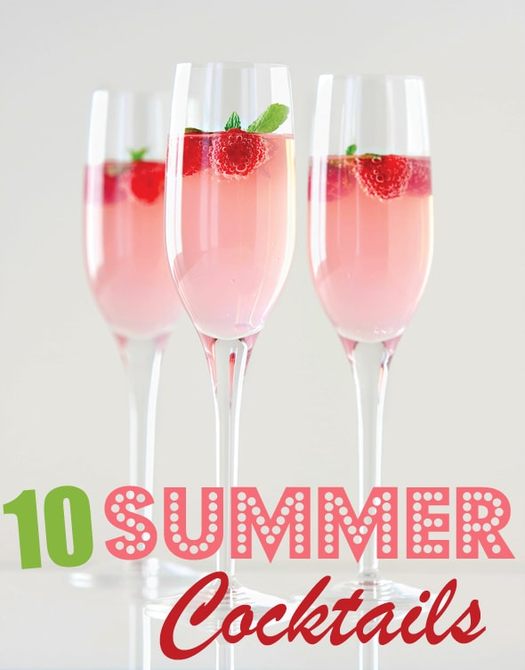 10 delicious summer cocktails pretty my party for Summer drinks for party