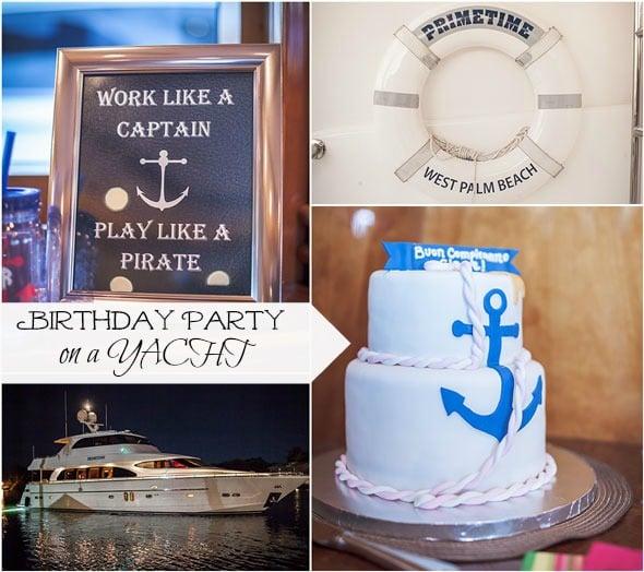 Casino Party Invitations – Yacht Party Invitations