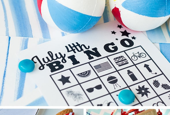 20 Free Fourth of July Printables