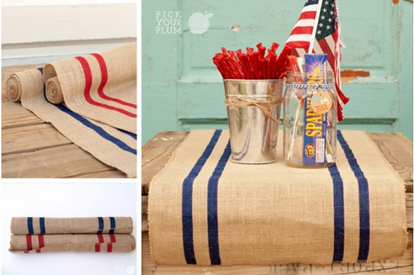 Patriotic Table Runners 82% Off
