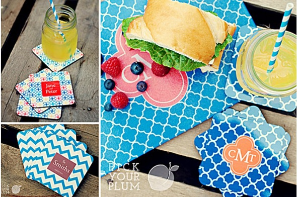 Personalized Cutting Boards and Coasters on Sale