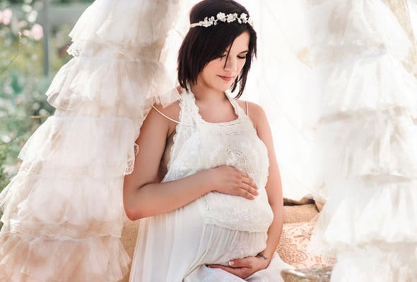 Rustic Maternity Styled Photo Shoot