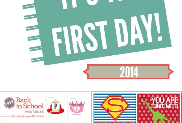15 Free Back to School Printables