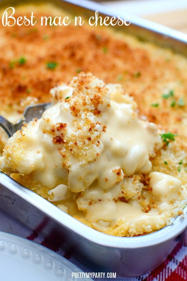 Best Baked Mac and Cheese on Pretty My Party