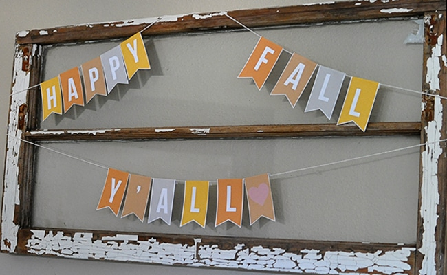 image regarding Fall Banner Printable named 30 No cost Slide Printables - Fairly My Occasion - Bash Plans