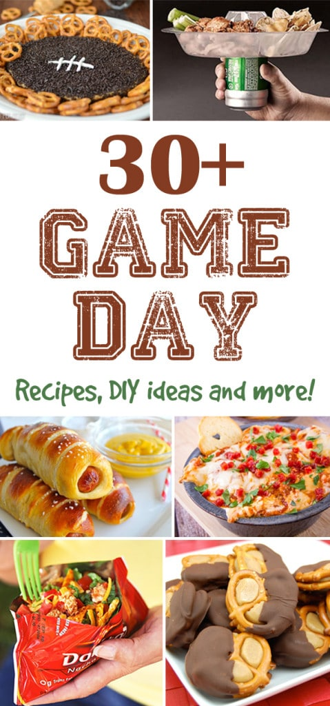 30+ Football Party Ideas, Super Bowl Party Ideas on Pretty My Party