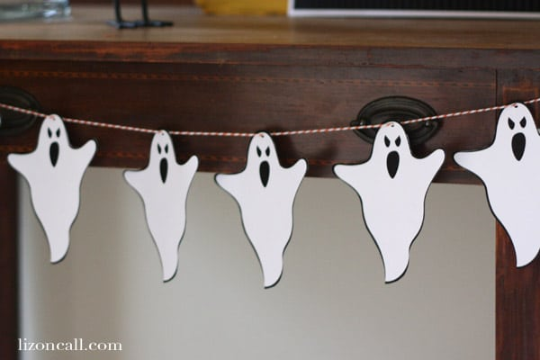 Free Halloween Ghost Banner Printables