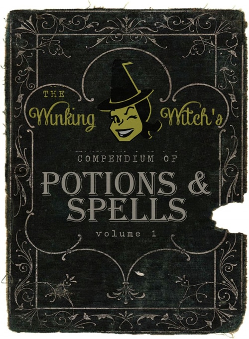 Free Halloween Spell Book Cover Printable