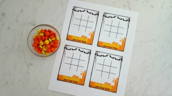Free Halloween Tic Tac Toe Game
