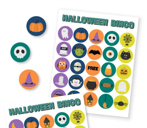 Free Halloween Bingo Printable