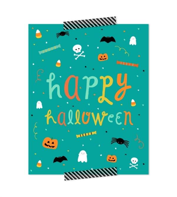 Free Kids Happy Halloween Printable