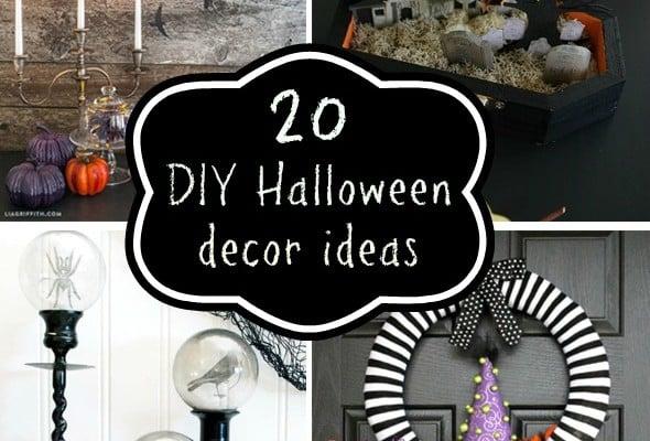 20 DIY Halloween Decorations