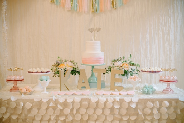 Sweet Pastel First Birthday Party