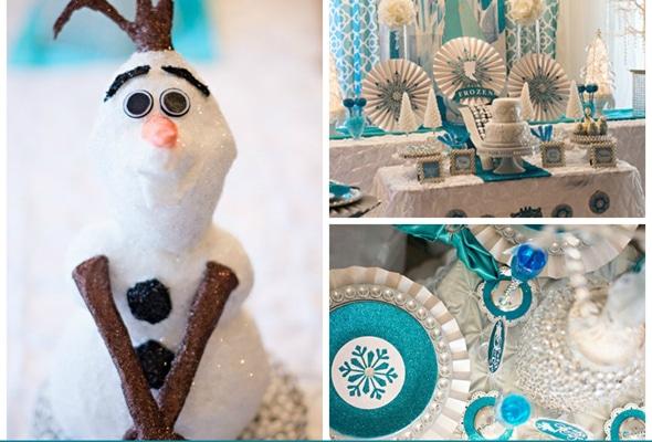 Disney Frozen Queen Elsa Inspired Birthday Party