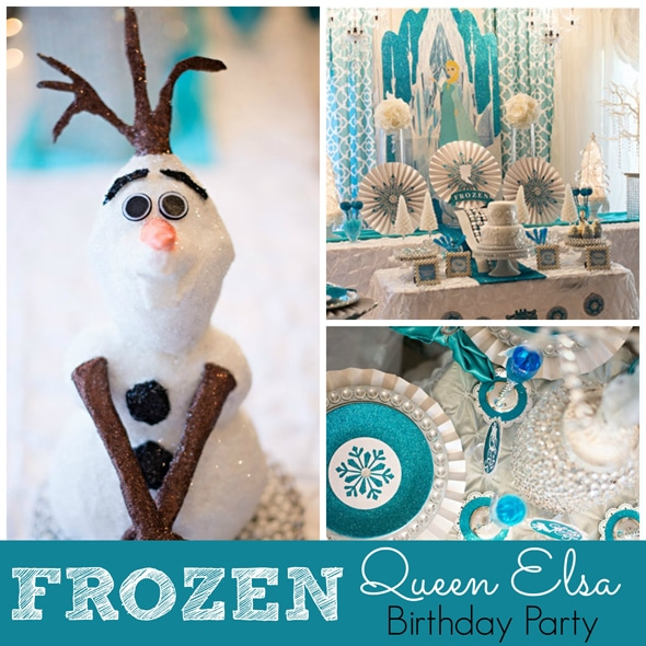 Disney Frozen Queen Elsa Inspired Birthday Party