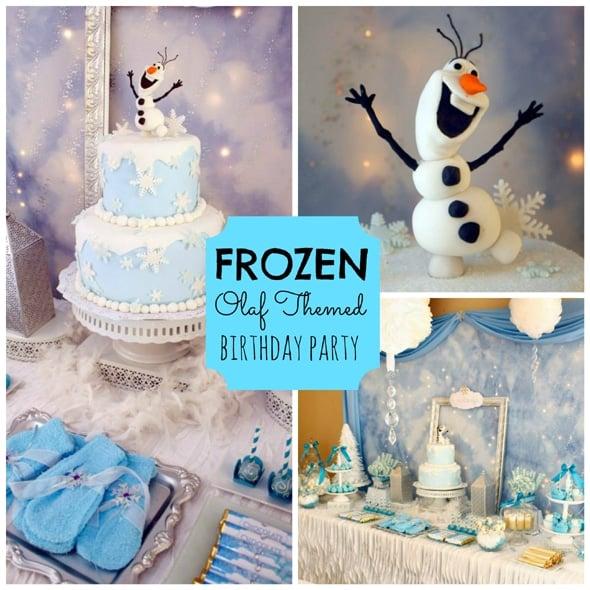 Olaf Frozen Birthday Party