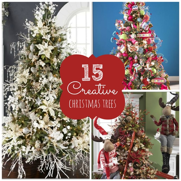15 Creative Christmas Tree Ideas