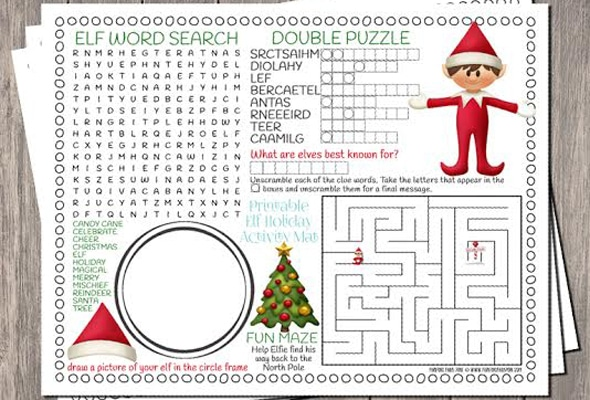 free-elf-activity-printable