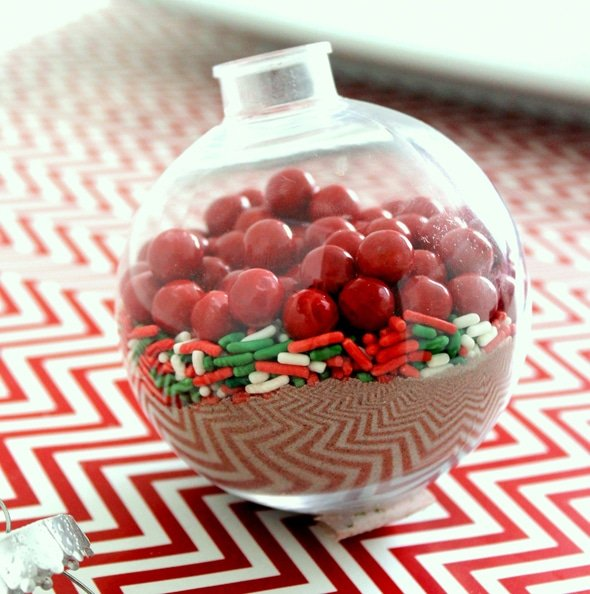 Hot Cocoa Ornament Craft