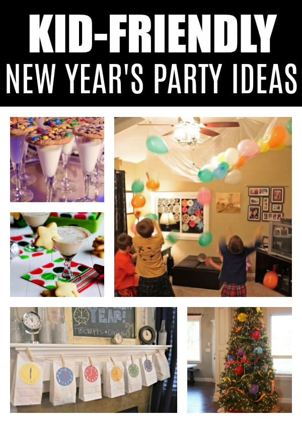 10 Kid-Friendly New Year's Eve Party Ideas on Pretty My Party