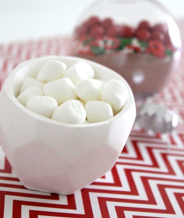 Hot Chocolate Ornament Christmas Party Favors