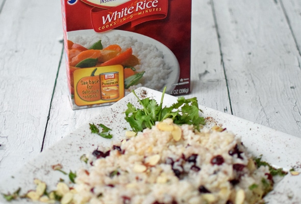 Cranberry and Almond Rice Side Dish