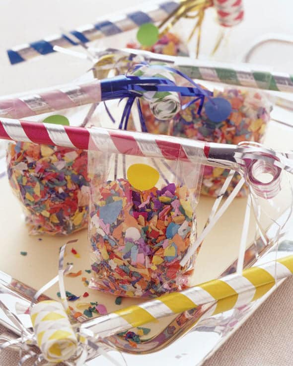 New Years Party Favors For Kids - Kid-Friendly New Year's Party Ideas