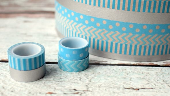 DIY Washi Tape Gift Box
