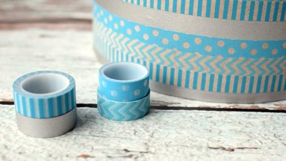 DIY Washi Tape Gift Box