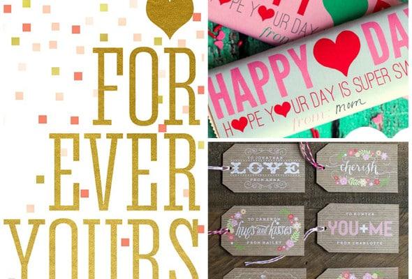 25 Free Valentine's Day Printables