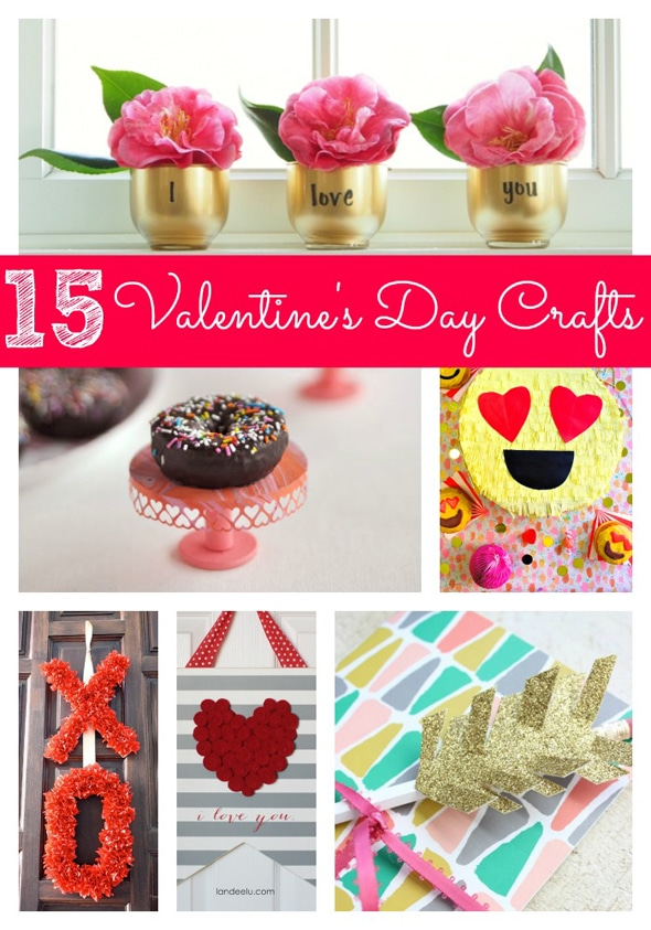 15 Creative Valentine 39 S Day Diy Projects Pretty My Party