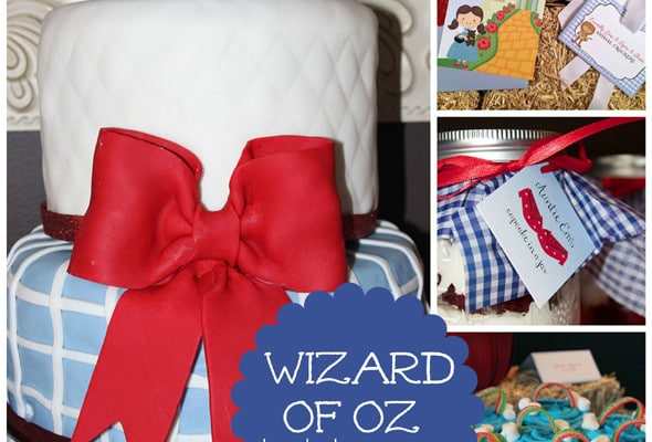 Wizard of Oz Themed Birthday Party