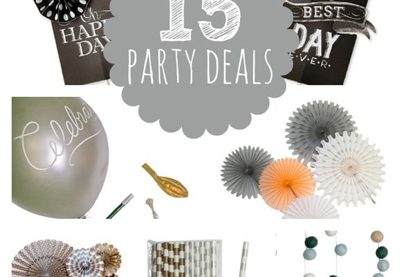 15 Party Deals Ending Soon
