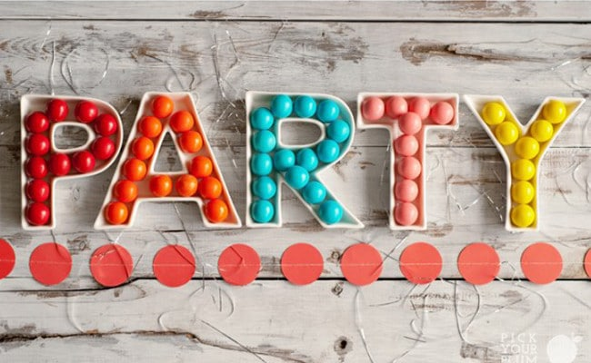 Party Decor and Supplies Sale