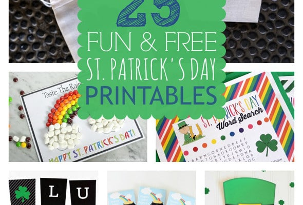 25 Free St. Patrick's Day Printables
