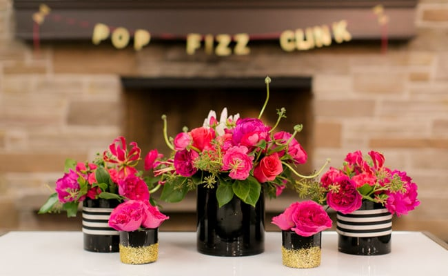 Kate Spade Themed 30th Birthday Party