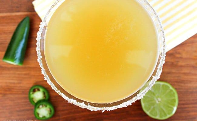 Pineapple Jalapeno Margarita Recipe