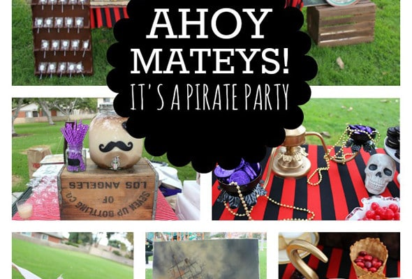 Shiver Me Timbers, A Pirate Birthday Party